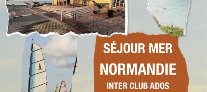 Séjour Normandie inter club ados
