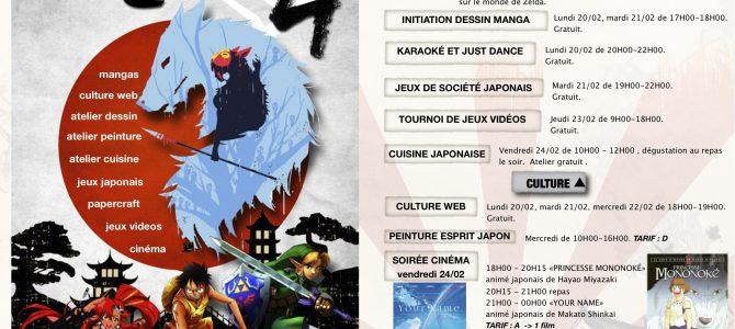 Japan Culture au club ados de Bar-sur-Aube