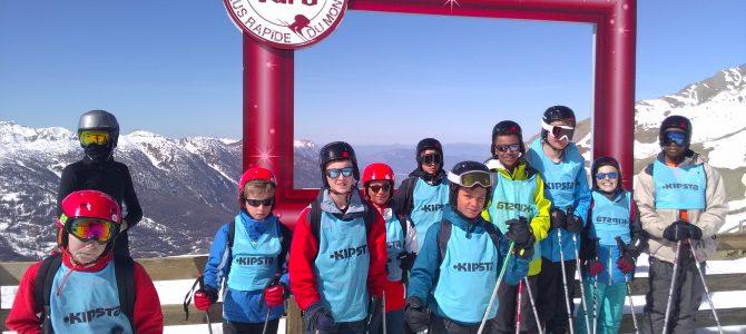 Séjour ski ados 2017