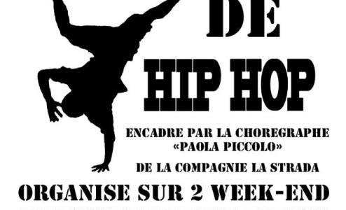 Stage Hip-Hop pour des jeunes du club ados