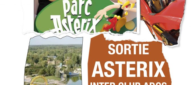 Sortie parc Astérix club ados