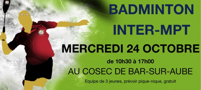 tournoi badminton inter club ados